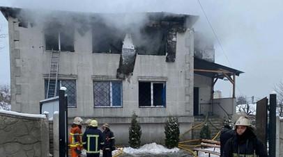 Названа предварительная причина пожара в харьковском доме престарелых