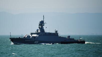 Малый ракетный корабль «Великий Устюг» проекта 21631 «Буян-М»