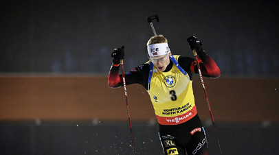 Бё выиграл масс-старт на этапе КМ в Антерсельве