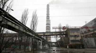 Теплоэлектростанция под Киевом