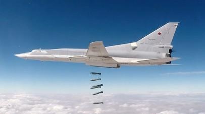 Обстрел фронтовой авиации ВКС России
