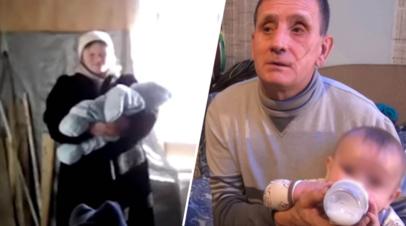 Беженцы из Донбасса борются за возвращение пятерых детей, изъятых опекой