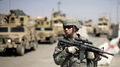 Военный США в Ираке