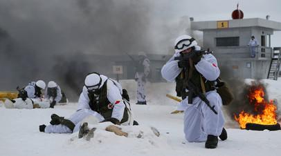 Военнослужащие РФ на учениях
