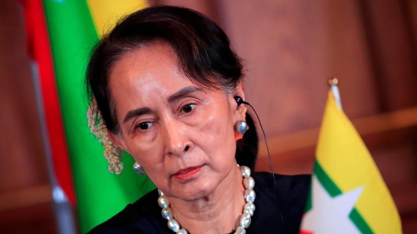 В Мьянме военные ввели чрезвычайное положение
