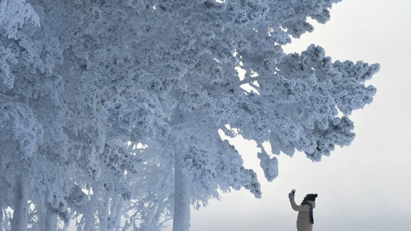 В Приамурье сохраняются морозы до -43 °C