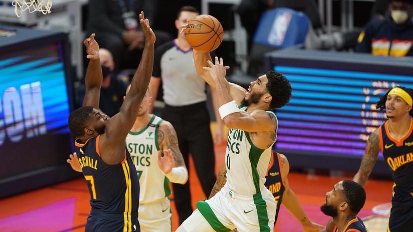 Дабл-дабл Карри не спас «Голден Стэйт» от прогрыша «Бостону» в НБА