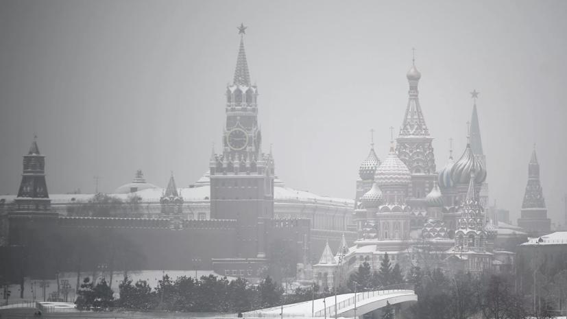 Снегопад в Москве продлится более суток