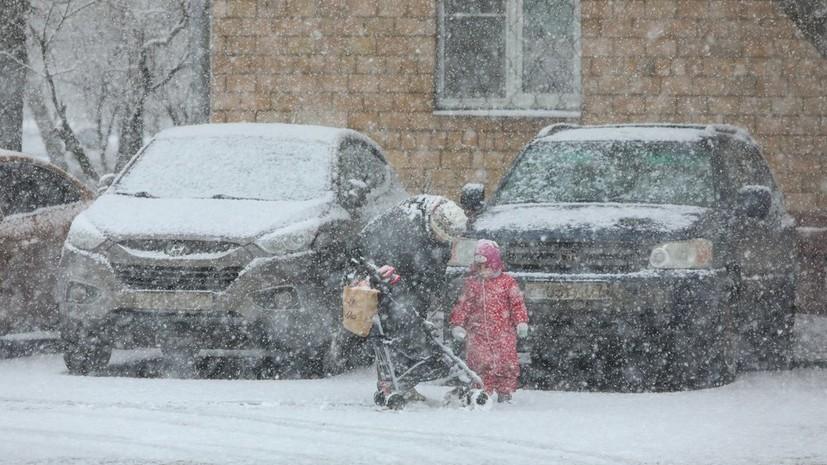 Синоптики прогнозируют сильный снегопад в Москве