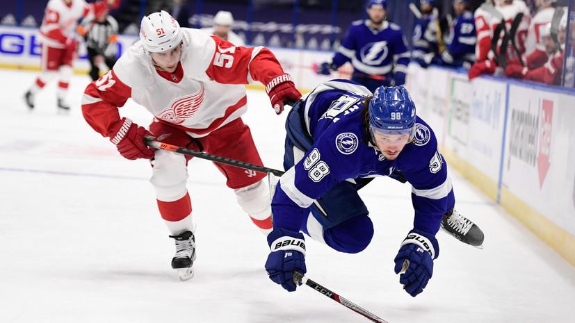 Ошибка Сергачёва привела к голу соперника в матче НХЛ