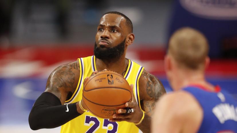 НБА назвала предварительные результаты голосования на Матч звёзд