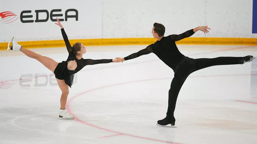 Артемьева и Назарычев выиграли ЮЧР по фигурному катанию среди спортивных пар
