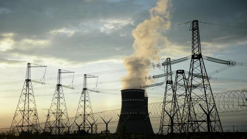 На Запорожской ТЭС на Украине вновь отключился энергоблок
