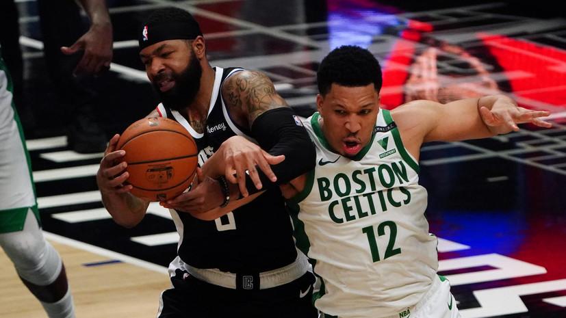 «Бостон»взял верх над«Клипперс» в НБА, Тейтум набрал 34 очка