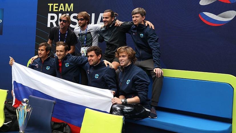 «Русский дух присутствовал на 100 процентов»: как отреагировали на победу Медведева и Рублёва в ATP Сup