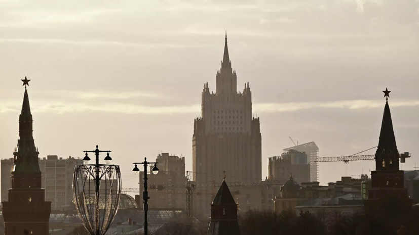 Захарова назвала вынужденной высылку трёх дипломатов из России