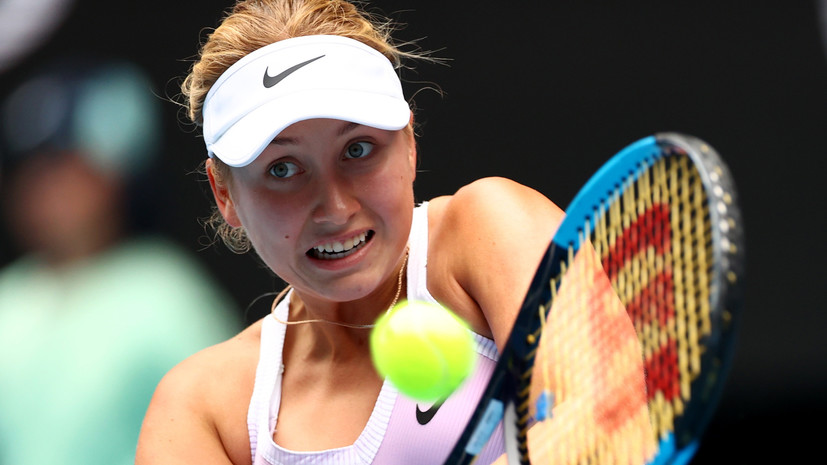 Потапова стартовала на Australian Open с победы над Риске