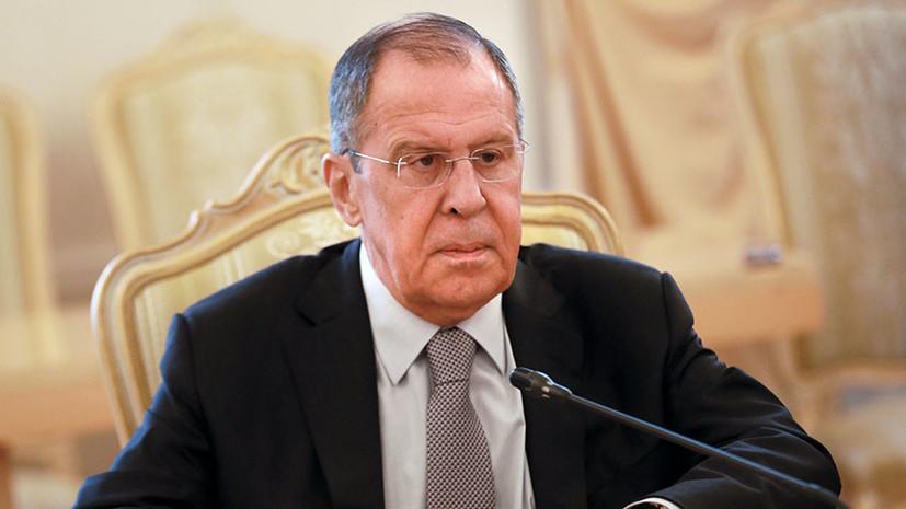 Лавров провёл разговор с председателем Президентского совета Ливии