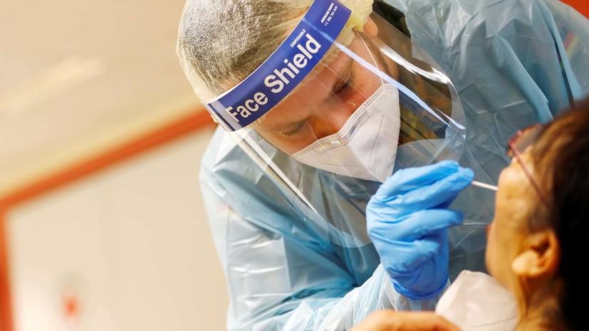 В Германии за сутки выявили более 3 тысяч случаев заболевания коронавирусом