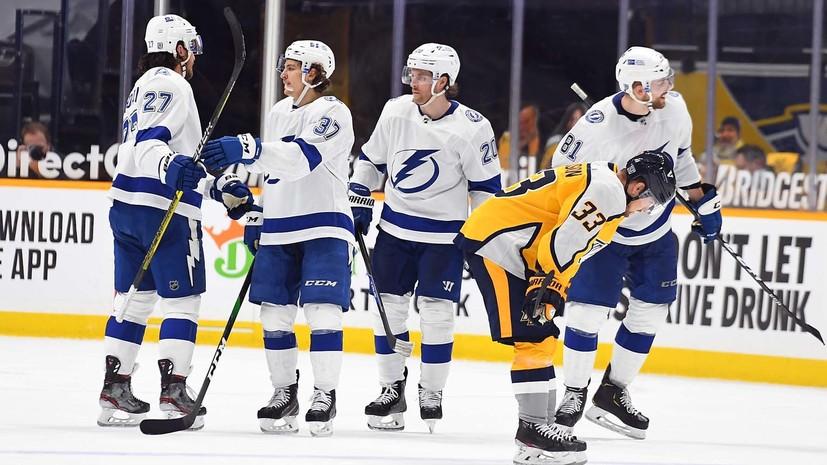 Голевой пас Сергачёва помог «Тампе» одержать пятую победу кряду в НХЛ