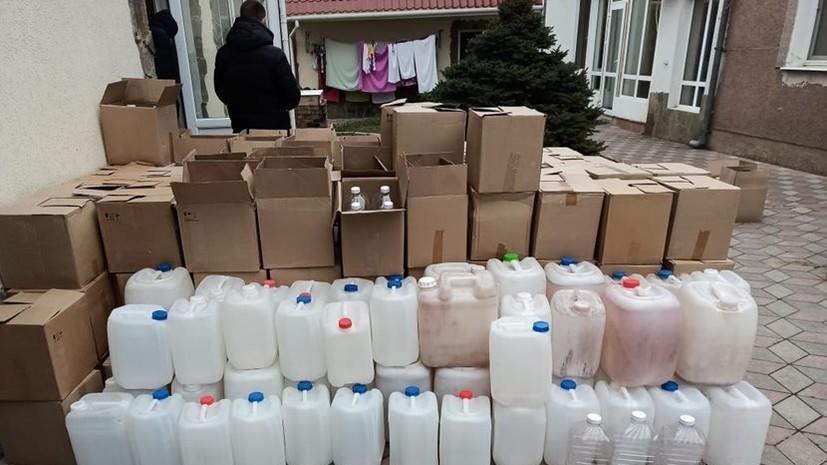 В Крыму возбуждено дело по факту производства суррогатного алкоголя