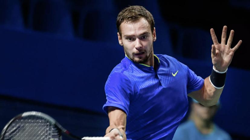 Российский теннисист Сафиуллин вышел во второй раунд Australian Open