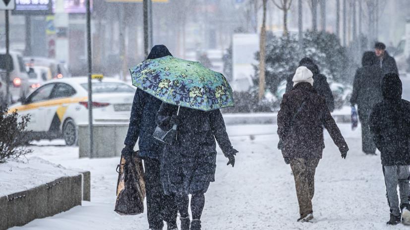 Синоптик прогнозирует сильный снегопад в Европейской России 11 февраля