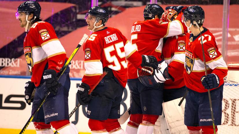 31 сейв Бобровского помог «Флориде» обыграть «Детройт» в НХЛ