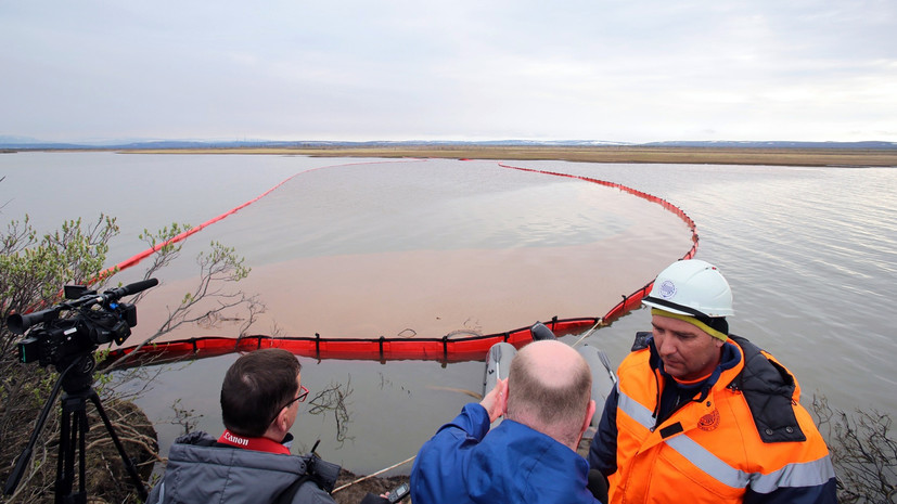 Власти Красноярского края намерены предъявить претензию к «Норникелю» об ущербе природе