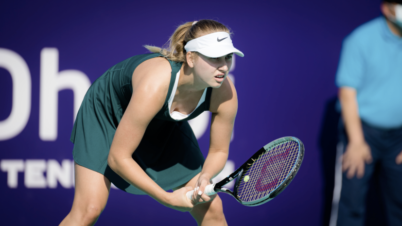Потапова поделилась ожиданиями от матча с Уильямс на Australian Open