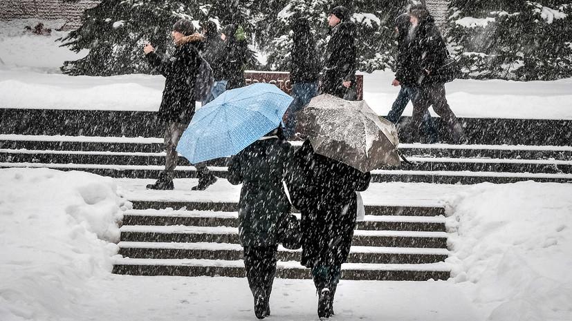 «Самый сильный снегопад за сезон»: синоптики рассказали о погоде в Москве в конце текущей недели