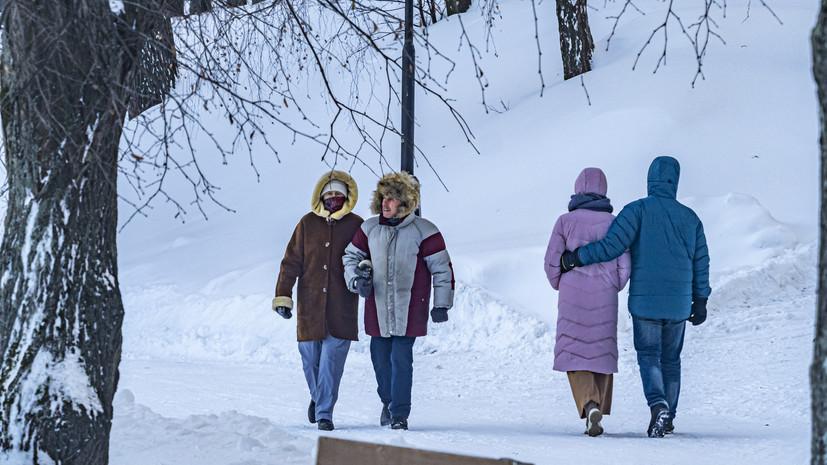 Спасатели предупредили о морозах до -40 ˚С в Пермском крае