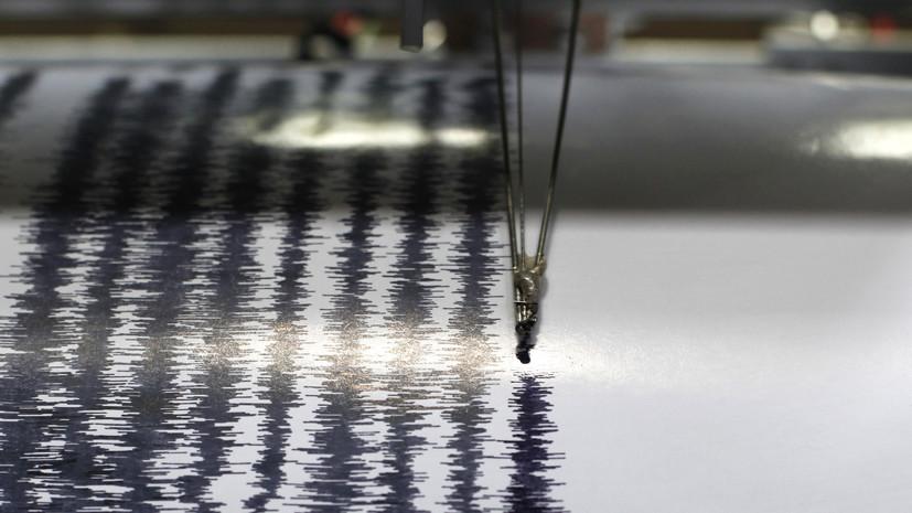 Землетрясение магнитудой 6,4 зафиксировано у берегов Новой Каледонии