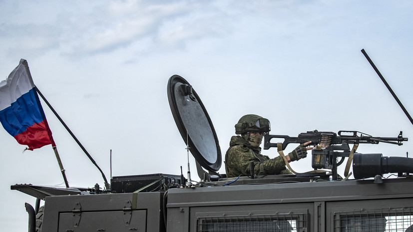 Российские и турецкие военные провели тренировку в сирийском Саракибе