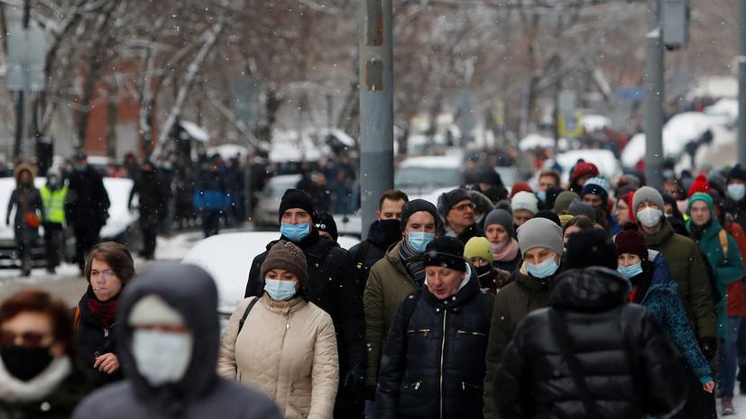 В Госдуме предложили выдворять задержанных на несанкционированных акциях иностранцев