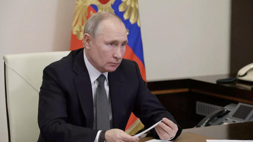 Путин самостоятельно сообщит, когда привьётся от коронавируса