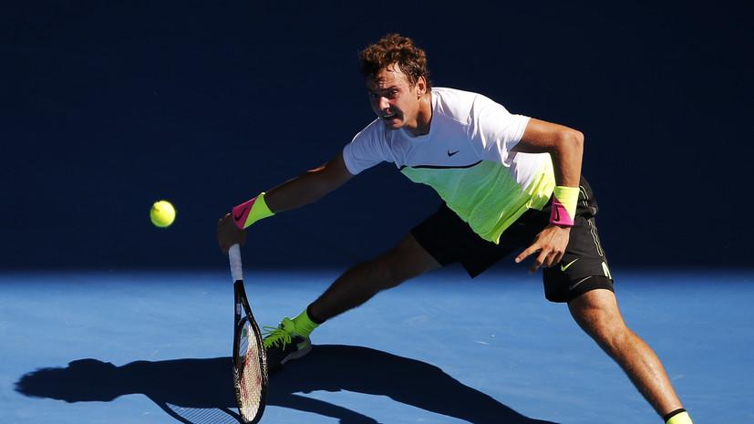 Матч Сафиуллина на Australian Open прерван из-за дождя