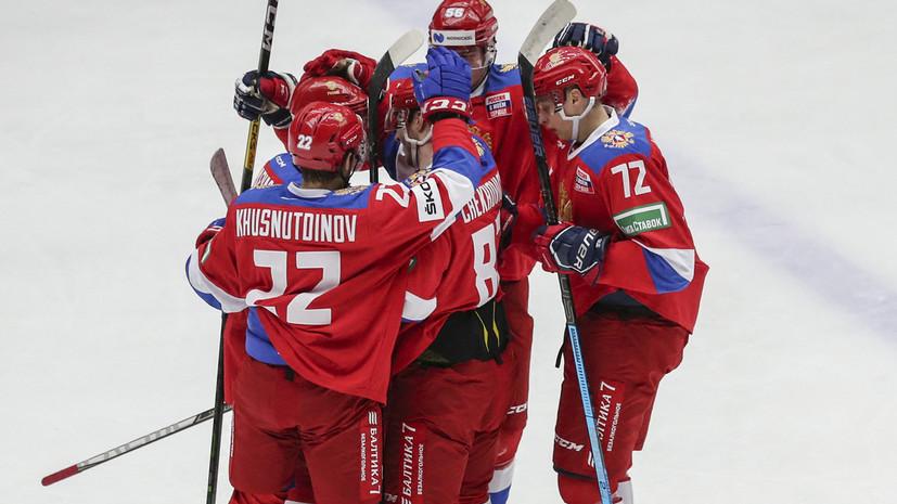 Абсолютное превосходство: сборная России под руководством Ларионова одержала седьмую победу подряд в Еврохоккейтуре