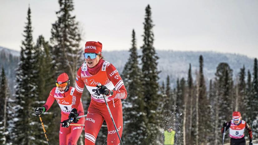 Чешская лыжница опубликовала пост в соцсетях после контакта с Фалеевой на молодёжном ЧМ