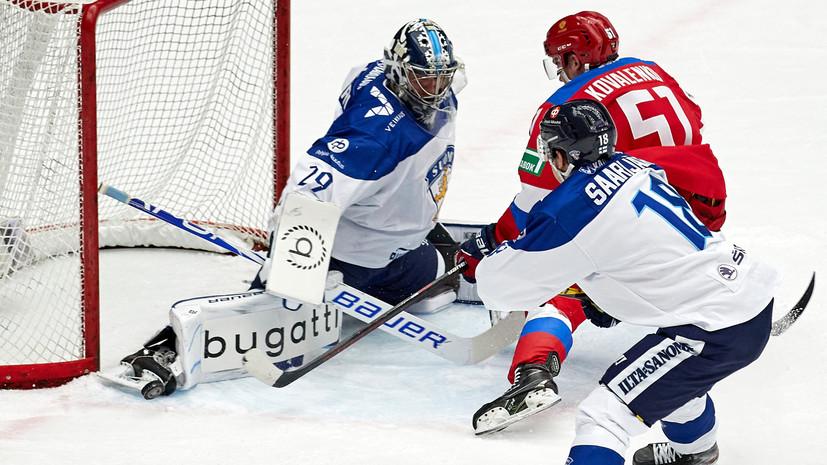 Ларионов назвал непростым матч сборной России по хоккею с Финляндией