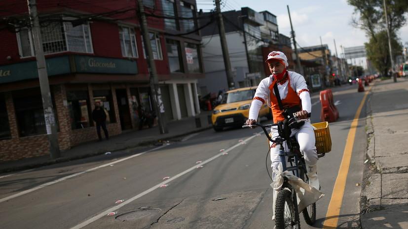 За сутки в Колумбии зафиксировано более шести тысяч случаев COVID-19