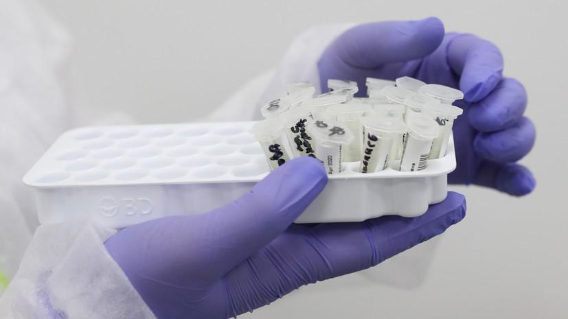 Число проведённых тестов на коронавирус в России превысило 106 млн