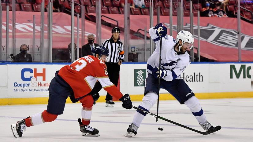 «Флорида» обыграла «Тампу» в матче НХЛ