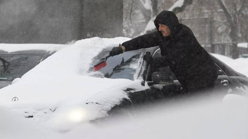 В Москве за неполные сутки выпала четверть месячной нормы осадков