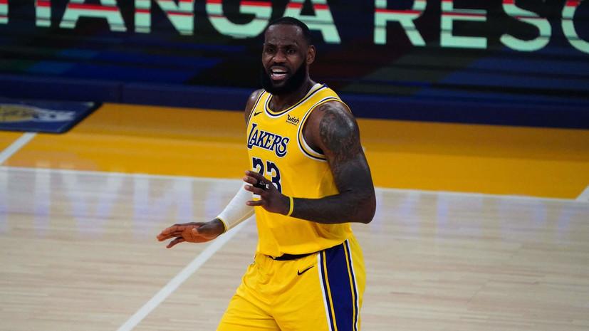 Джеймс сохранил лидерство в голосовании на Матч звёзд НБА