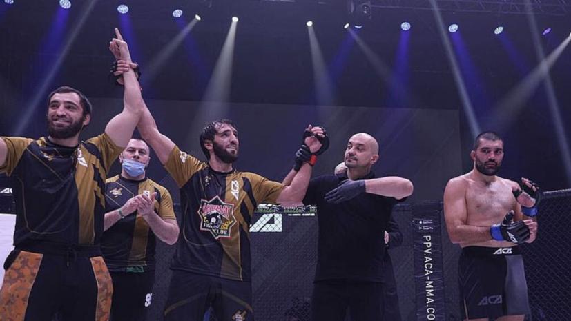 Халиев победил Аморима на турнире ACA 117