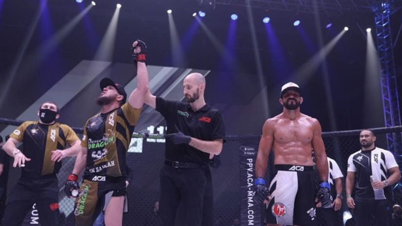 Багов победил Сильверио в главном поединке турнира АСА 117