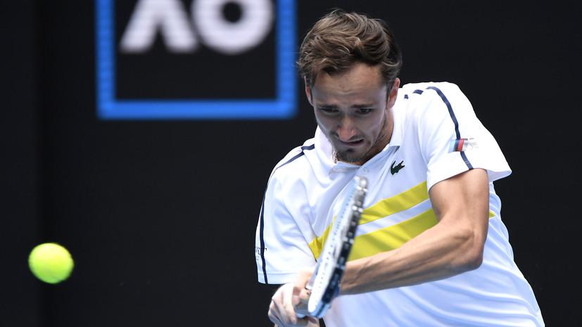 Медведев заявил, что Краинович играл невероятно в их матче на Australian Open