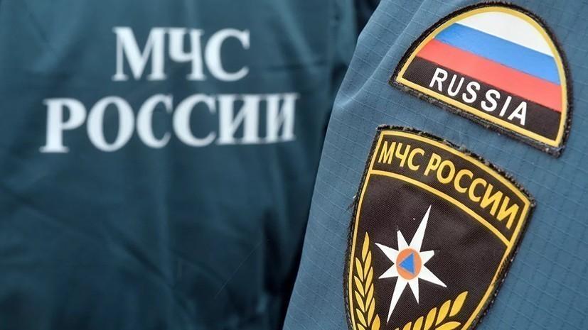 Крыша ангара обрушилась в Калужской области