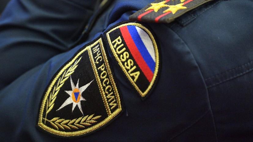 В МЧС рассказали о работах на месте обрушения ангара в Калужской области